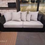 Skandinaviško stiliaus sofa