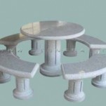STONERA lauko stalas - komplektas